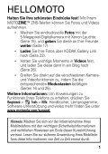 Motorola-Motozine-ZN5-Kurzanleitung.pdf ... - Handytick.de - Page 3