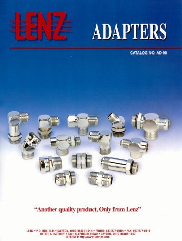 Lenz Adapters.pdf - Coastalhydraulics.net