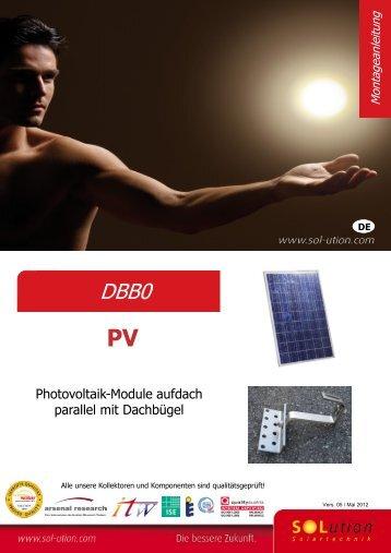 2. Montage der PV-Module