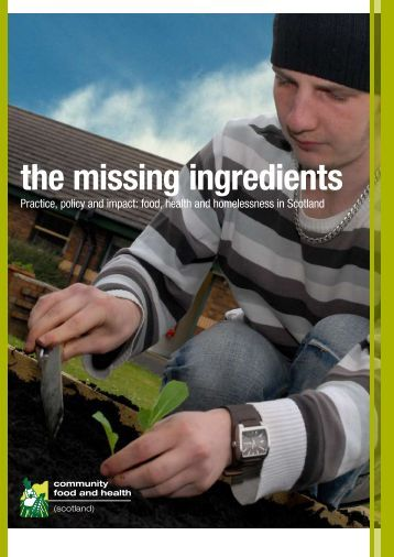 the missing ingredients - Community Food and Health