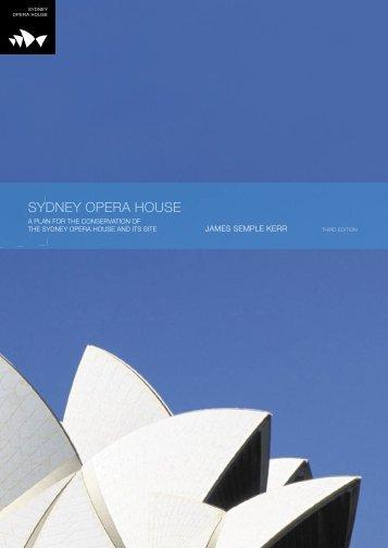 Sydney Opera House conservation plan