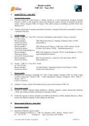 Rozpis soutěže ČBF 3x3 - Tour 2013