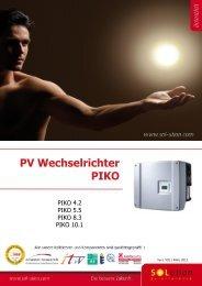 PV Wechselrichter PIKO