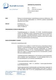 san hallinto-oikeuden - Aluehallintovirasto
