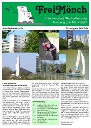 Ausgabe 20 - FreiMönch - Bürgerverein Freiberg und Mönchfeld eV