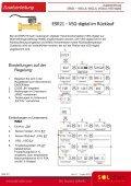 Zusatzanleitung Steuerung ESR21 Volumenstromgeber - Seite 4