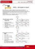 Zusatzanleitung Steuerung ESR21 Volumenstromgeber - Seite 6