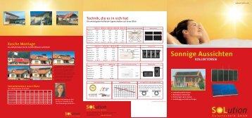 Sonnige Aussichten - Solution Solartechnik GmbH