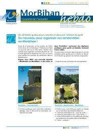 Du nouveau pour organiser vos randonnées en Morbihan !