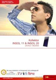 Technische Daten INSOL 11 & INSOL 20