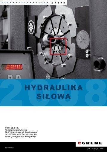Hydraulika siłowa - Grene