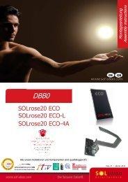 SOLrose20 ECO SOLrose20 ECO-L SOLrose20 ECO-4A