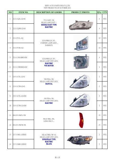 Depo 2741282 Phare,manuel et /él/éctrique H4