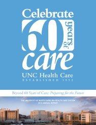 2012 Annual Report - UNC Health Care