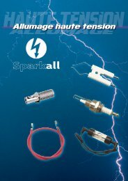 Allumage Haute Tension - Sparkall - CBM