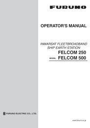 FELCOM 250 FELCOM 500