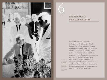 EXPERIENCIAS DE VIDA SINDICAL - Grupo Leon Jimenes