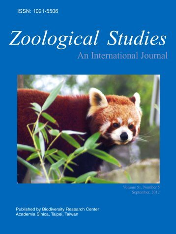 Download PDF - Zoological Studies - Academia Sinica