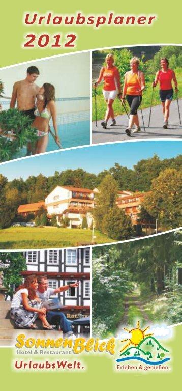 UrlaubsPlaner 2012 - Hotel Sonnenblick