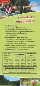 UrlaubsPlaner 2012 - Hotel Sonnenblick - Page 6