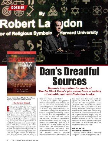 Dan's Dreadful Sources - Ignatius Press