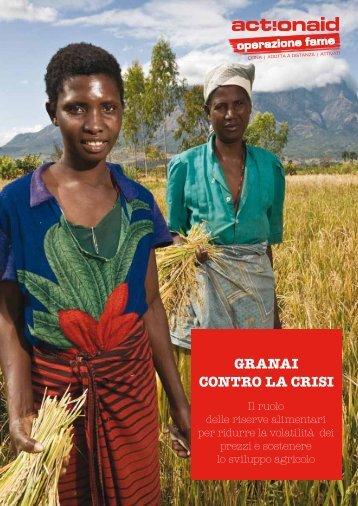 GRANAI CONTRO LA CRISI - ActionAid