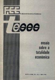 Ensaio sobre a totalidade econômica