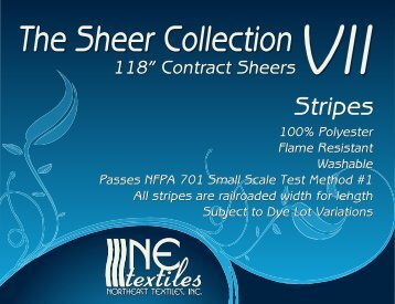 Sheer Collection VII - Stripes