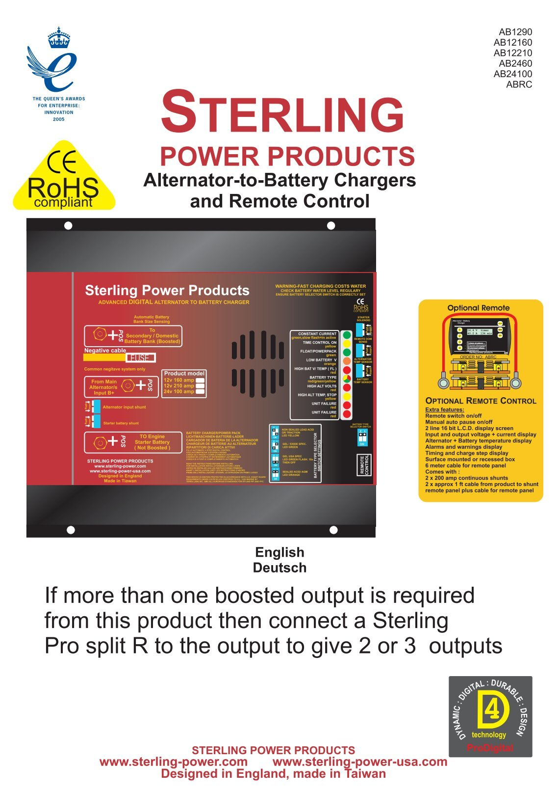 10 Free Magazines From Shopsterlingpowercom Battery Charger Sterling Power Usa 20 Amp 2 Bank