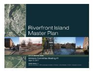 Advisory Committee Meeting #1 - Riverfront Island Master Plan