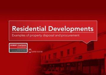 Residential Developments - Robert Chapman and Company