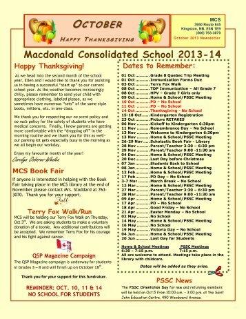 Macdonald Consolidated School 2013-14 - Web - Nbed.nb.ca