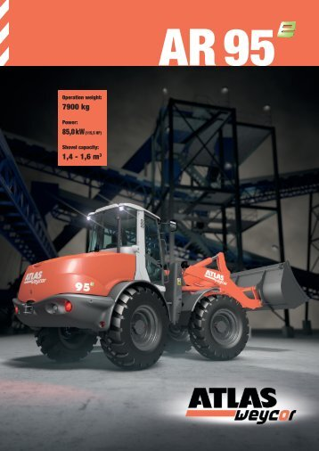 7900 kg 1,4 - 1,6 m3 - Global Construction Plant & Equipment Ltd