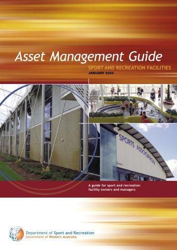 WADSR - Asset Management Guide - VicSport