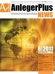 der newsletter für kapitalanleger - Scherzer & Co. Aktiengesellschaft