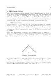 Differentialrechnung für Architekten - hknoll.ch