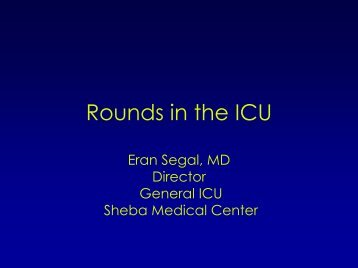 Rounds in the ICU, Cases 5-7