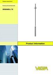 Product Information VEGAWELL 72 - Insatech