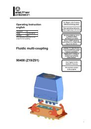 Fluidic multi-coupling type 90408 - Carl Kurt Walther GmbH & Co. KG