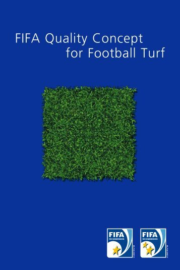 FIFA Quality Concept for Football Turf - MyFootballClub