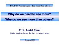 Why do we need to see more? - PULSION Medical Systems SE