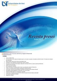 4. REVISTA PRESEI 07-mai 2012 [click aici] - dci.uvt.ro