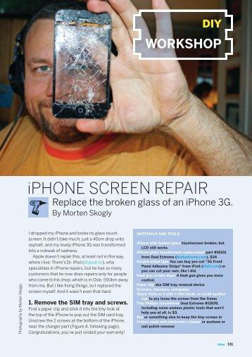iPhone Screen Repair PDF - Make