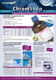 PESTINORM® Lösungsmittel für die Rückstandsanalyse - VWR ...