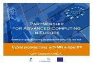 Hybrid programming with MPI & OpenMP - Prace Training Portal
