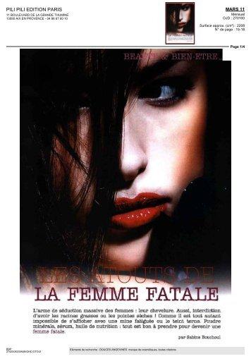 FATALE - Les douces angevines