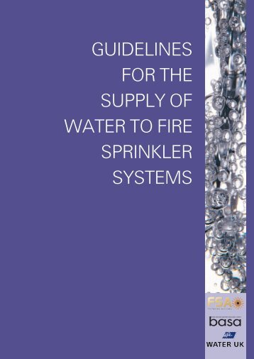 Water document.pdf - Residential Sprinkler Association