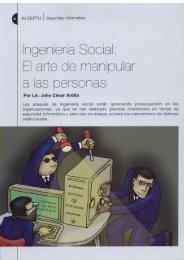 ngeníer'ia Social: Ei arte de manipular - Cybsec