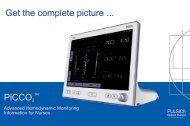 PiCCO2 Nurse Booklet - PULSION Medical Systems SE