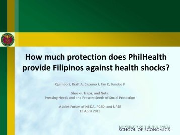 How much protection does PhilHealth provide Filipinos against ...